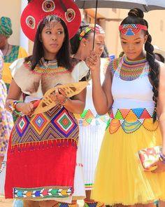 Zulu Traditional Wedding Dresses, South African Traditional Dresses, Emo Dresses, Party Dresses, Fashion Dresses, Afro, Zulu Wedding, Afrique Art, African Wedding Dress