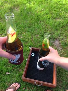 DIY Washer Toss Game. Easy Peasy!