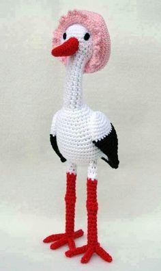 Flamingo Mom