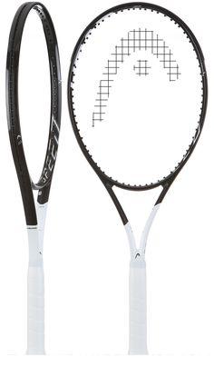 bf826d627 Esta raqueta, con sus fibras de carbono transparentes realmente únicas en  la cabeza, es la combinación ideal de estilo y rendimiento.