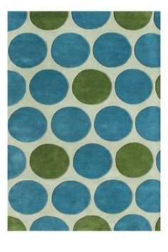 How cute would this rug be in Paisley's room in hot pink and lime green?