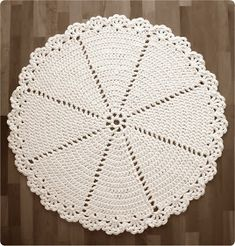 Hilja Design -blogi: Virkattu matto / Lace Rug