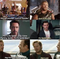 Marvel characters having their names messed up