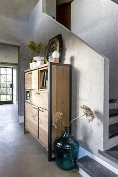Bergkast Metalo - Henders & Hazel Cabinet Furniture, Kids Furniture, My Living Room, Living Room Interior, Steel Art, Industrial Furniture, Steel Frame, Filing Cabinet, Wood Projects