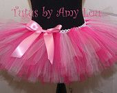 Breast Cancer Survivor Pink Dreamy Race Running Tutu, Race for the Cure; Adult Women