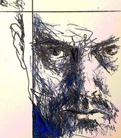 Selfie sketch with a YouDoodle app filter