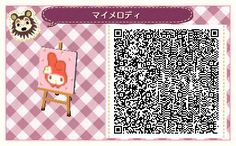 Animal Crossing New Leaf : Events & Happy Home Designers: ACNL : Motifs Rivière Animal Crossing Memes, Animal Crossing Qr Codes Clothes, Animal Crossing Town Tune, Acnl Paths, Flag Code, Motif Acnl, Code Wallpaper, Ac New Leaf, Happy Home Designer