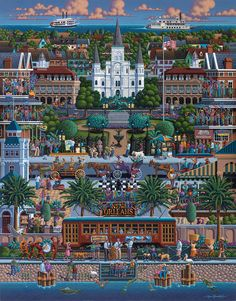 New Orleans by Eric Dowdle