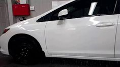 Arctic Coating Protected Honda Civic @detailnplasti Toronto Ceramic Coating, Honda Civic, Arctic, Toronto, North Pole