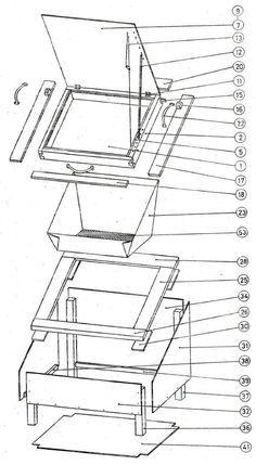 Diagram: solar oven
