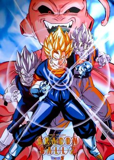 Dragon Ball Z, Majin Boo Kid, Gogeta And Vegito, Pokemon Alola, Ninja Turtles Art, Son Goku, Anime Shows, Manga, Otaku