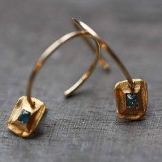 Boucles d'Oreilles  Or & Diamants by Esther Assouline