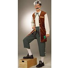 Geppetto The Toymaker Halloween Costume - Adult Standard One Size