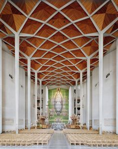 Coventry Cathedral - Architect Basil Spence, photograph Peter Marlow