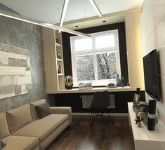 Дизайн 2-х комнатной малогабаритной квартиры