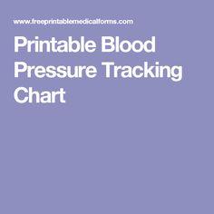 printable blood pressure tracker