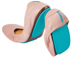 Ballerina Pink Tieks. Supposedly insanely comfortable flats