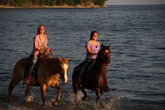 Splashing along at Kentucky Lake