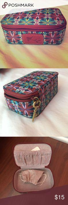 Small Jewelry Box New FIRM PRICE Small jewelry box Travel jewelry