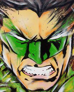 Green Lantern - Anthony Noble