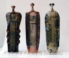 Ceramic figures, Theodoros Papagiannis