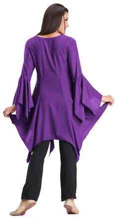 Shop Isadora Gypsy Tunic: http://holyclothing.com/index.php/isadora-gypsy-handkerchief-hem-peasant-v-neck-empire-tunic-top.html?utm_source=Pin #holyclothing #isadora #tunic #top #bohemian #gypsy #boho #renaissance #romantic #love #fashion #musthave
