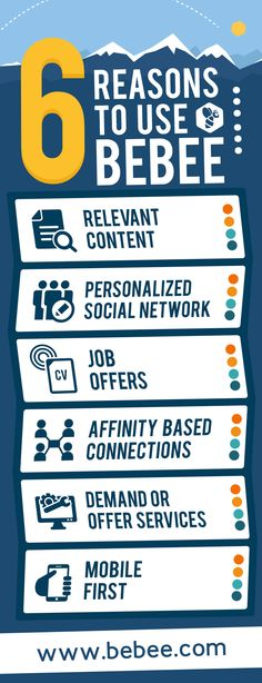 Do you need any more reasons to join beBee? #Infographic #beBee #SocialMedia #SocialNetworks