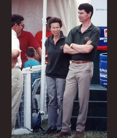 Princess Anne with her husband Tim Laurence at Gatcombe Horse Trials, 2005 [Getty Images]