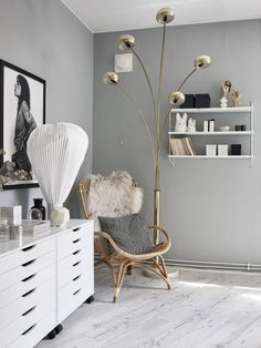 An inspiring Gothenburg home where personal style meets design classics. Love it all! | Styling by the dear owner herself and Charlotte Ryding…