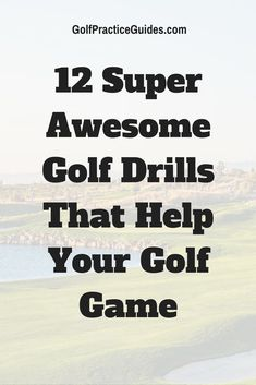 Download these golf drills that will build your golf swing, putting, chipping, and short game skills. Click to get started.