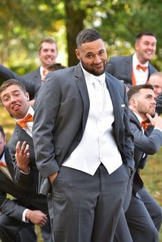 33 Awesome Groomsmen Photos You Can't Miss ❤ See more: http://www.weddingforward.com/groomsmen-photos/ #wedding #photography
