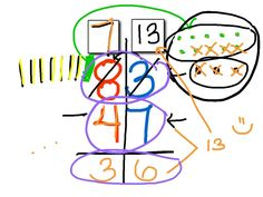 Subtraction with Regrouping video with great step-by-step instructions. The student can actually see what is happening when we regroup or borrow during subtraction. Teaching Subtraction, Teaching Math, Teaching Ideas, Math For Kids, Fun Math, Maths, Math Intervention, Math Addition, Second Grade Math
