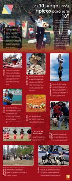 Juegos típicos en Fiestas Patrias, Chile Time Unit, I Want To Know, Teaching Spanish, Education, School, Crafts, Travelling, Celebrations, September Preschool