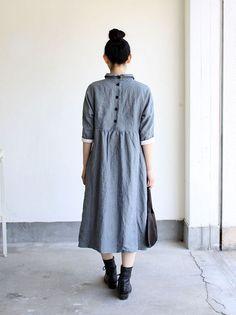 Bergfabel Linen dress 5 /Shirtdress inspo