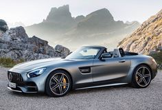 Mercedes-Benz has a hit with the new GT and now they have introduced a convertible called GTC. This new Mercedes has a stunning look with a long hood, short . Mercedes Benz Amg, Carros Mercedes Benz, Benz Car, Sexy Cars, Hot Cars, Porsche Boxster, Mercedes Convertible, Automobile, Mercedez Benz