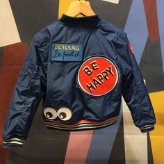 Cool and fun retro bomber jacket by No Added Sugar for fall/winter 2016 at Playtime Paris