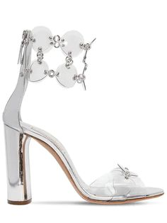 CASADEI, 100mm metallic leather & plexi sandals | #sandals | #highheels | #heels | Prom Heels, Metallic Leather, Plexus Products, Ankle Strap, Going Out, High Heels, Lace Up, Pumps, Sandals