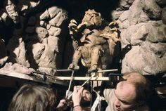 #ThrowbackThursday - It takes serious teamwork to control the mighty Rancor.