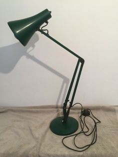SALE! $57.82 Vintage Mid Century Design Terry Anglepoise Green Desk Lamp Apex, #Reclaimed_Furniture_for_Sale #Old_Wood_Furniture Vintage Furniture For Sale, Rustic Wood Furniture, Black Desk Lamps, Anglepoise Lamp, Green Desk, Metal Desks, Old Wood, Mid Century Design, Lamp Light