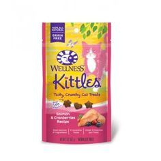 Kittles Salmon-Cranberry Treat (2OZ)