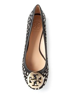 Tory Burch Spotted Ballet Flats
