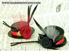 mark montano tiny hats. Made with cardboard and soda pop caps. Youtube video.