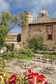 Carmel Mission, Carmel, Monterey, California by rsusanto