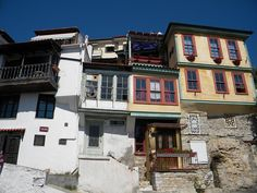 Houses - Kavala, Kavala Macedonia, Best Cities, Greece, Favorite Things, Europe, Houses, Magic, Spaces, Mansions