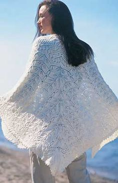 This gorgeous shawl is a rewarding #knit, a timeless piece that will indeed become an heirloom.