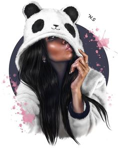Find images and videos about girl, drawing and cartoon on We Heart It - the app to get lost in what you love. Black Love Art, Black Girl Art, Cartoon Kunst, Cartoon Art, Fantasy Girl, Sarra Art, Girly M, Black Art Pictures, Pictures Images