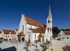At the heart of the Allgäu and brimming with history: Kempten,Germany.