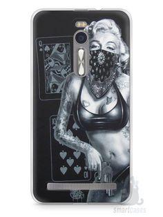 Capa Zenfone 2 Marilyn Monroe #3 - SmartCases - Acessórios para celulares e tablets :)