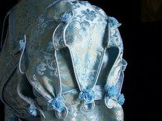 Regency pelisse sleeve detail