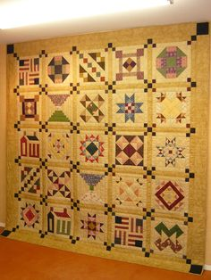 I made a quilt from this pattern. Women's Voices BOM